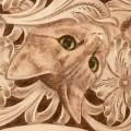 ワイヤー口金ショルダーバッグ猫