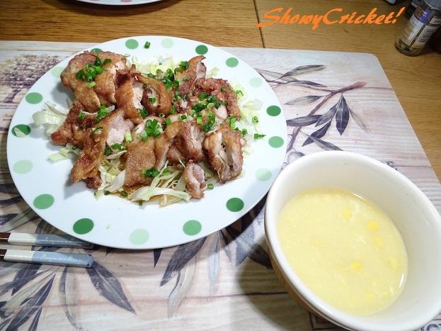 2017-07-21中華コーンスープ (1)