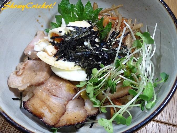 2018-03-23叉焼丼 (2)