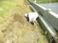 水路下土除去