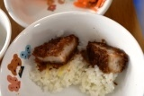 ソースかつ丼 (5)