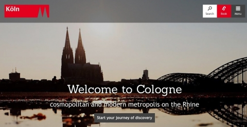 ドイツ、ケルン市のわかりやすさ