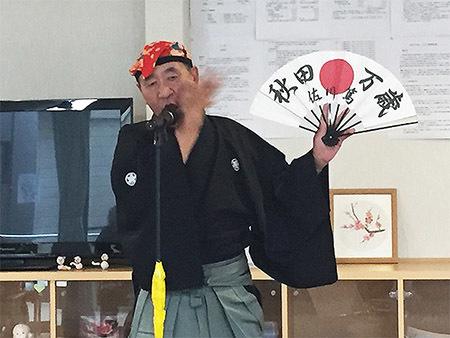 佐川篤先生の秋田漫才