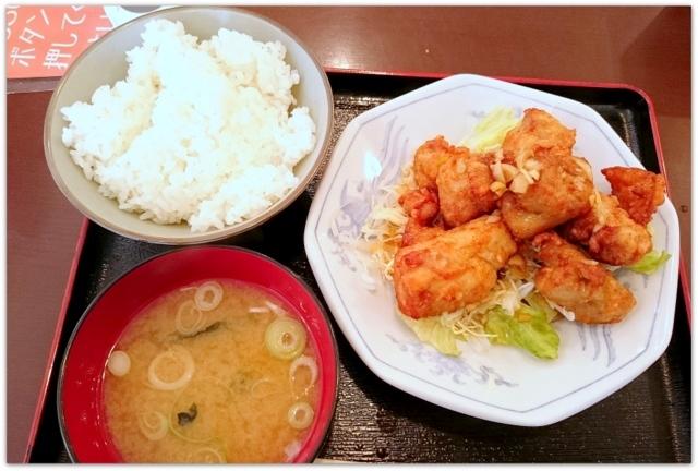 青森県 弘前市 ランチ つがるひろさき食堂 唐揚げ 定食 グルメ