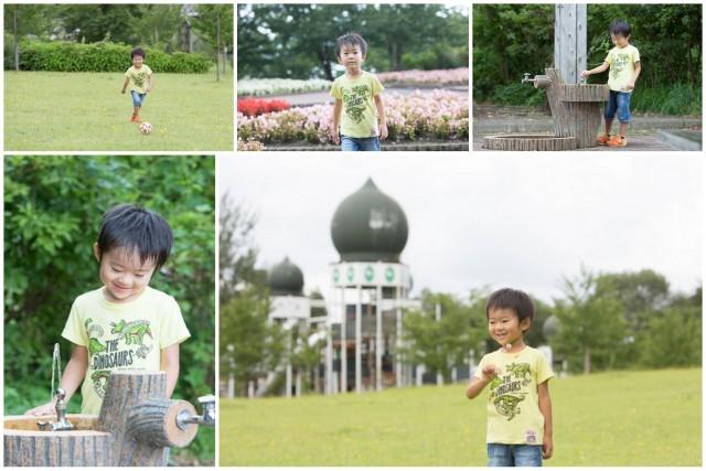 青森県 弘前市 カメラマン 出張 ロケーション 子ども 写真 撮影 キッズ 夏 公園