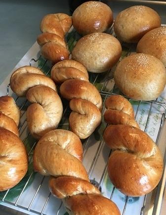 黒糖パン1