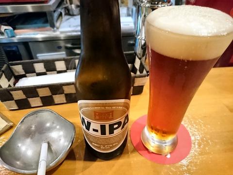 箕面ビール・W-IPA@ビストロバールマータ