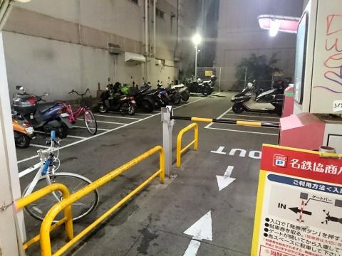 バイク駐車場@東心斎橋