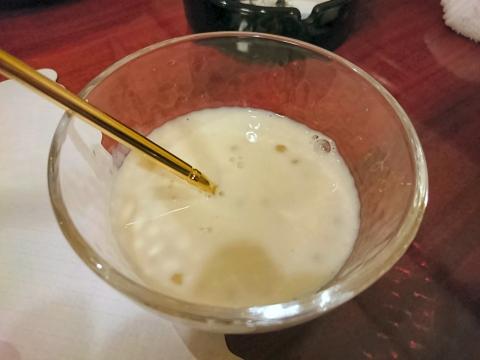西米(タピオカ入りココナッツミルク)@紅爐餐廳