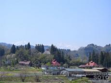 中条(道の駅からの眺め1)