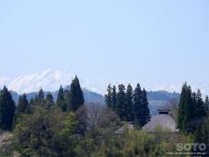 中条(道の駅からの眺め2)