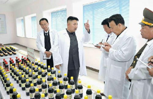 北朝鮮 鶏肉風味しょうゆ