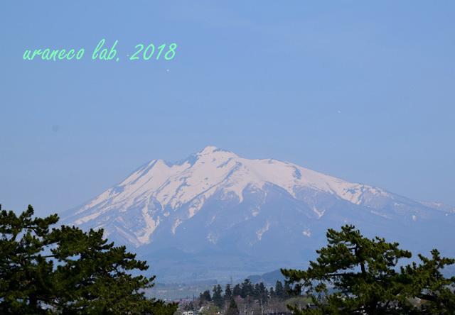 5月1日岩木山