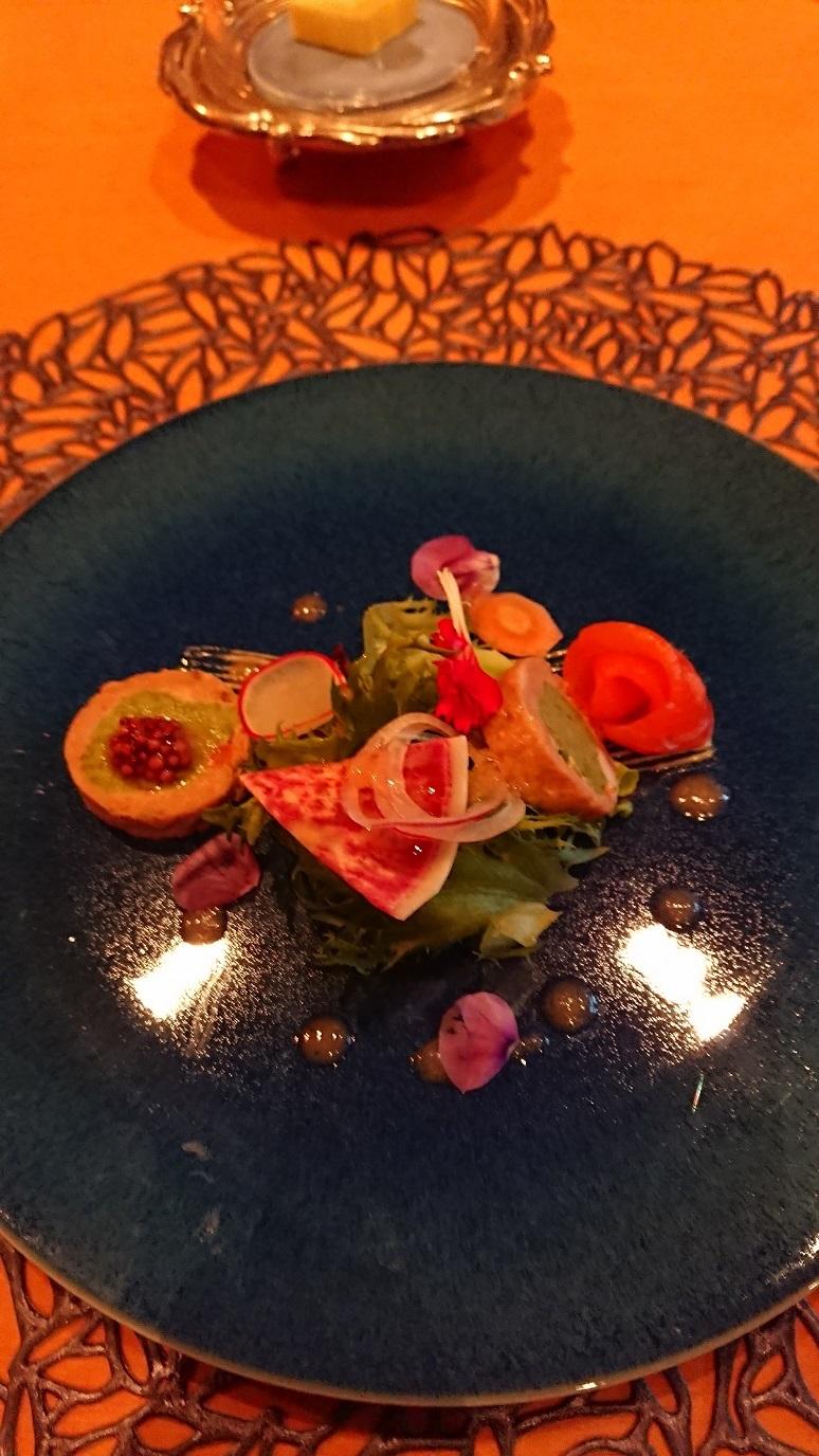 ホテル 夕食 前菜 blog
