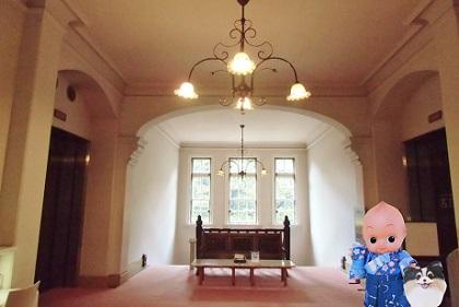 工芸館のロマンあふれる室内