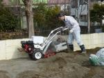 自走砂場清掃篩機 (砂場のふるい機)