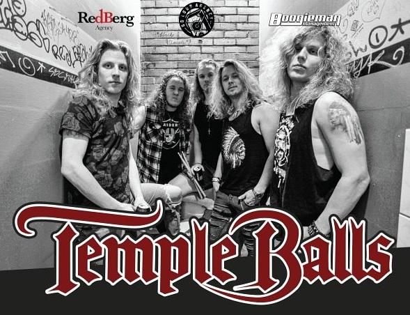 Temple Balls promo