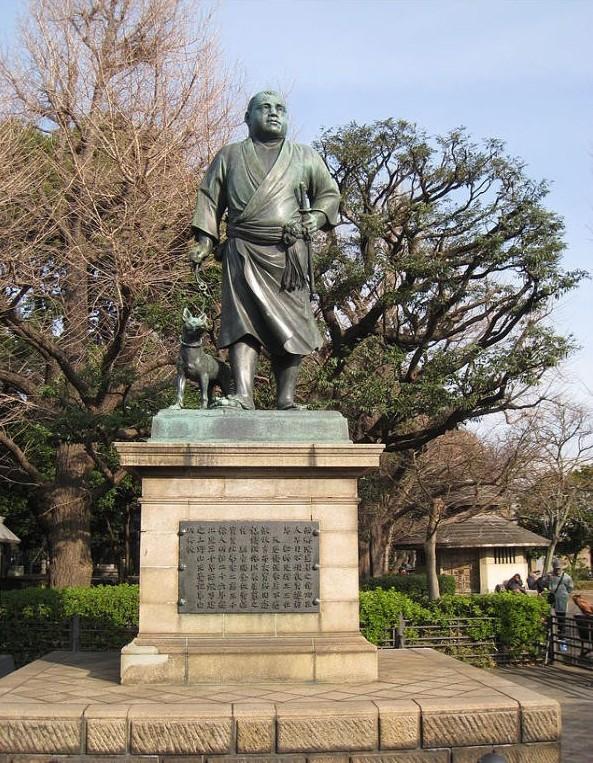 上野公園にある西郷隆盛の銅像脇の薩摩犬は、番犬ではなくウサギ狩りの猟犬だった?
