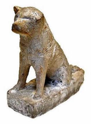 忠犬ハチ公の初代ひな形