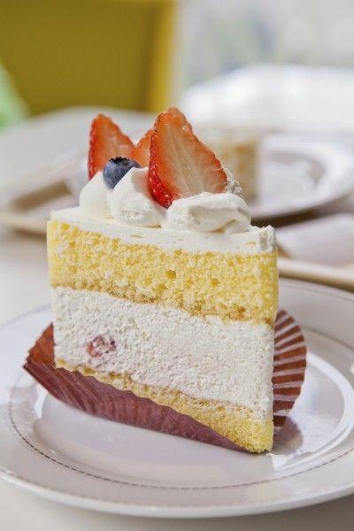 イチゴの ショートケーキ