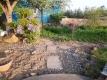 草取りをした庭の入口