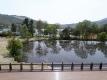 コンビニ展望台からの白樺湖