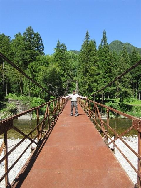 板取松場の吊橋5