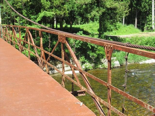 板取松場の吊橋9