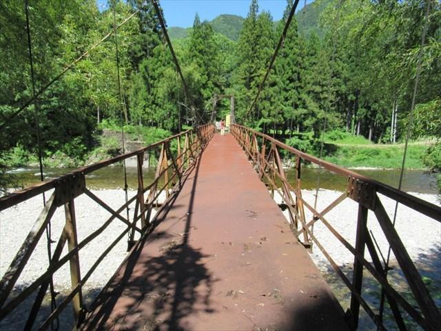 板取松場の吊橋7