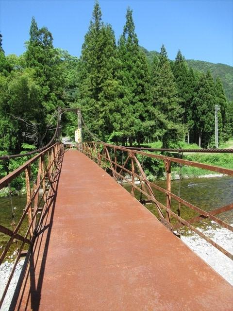 板取松場の吊橋8