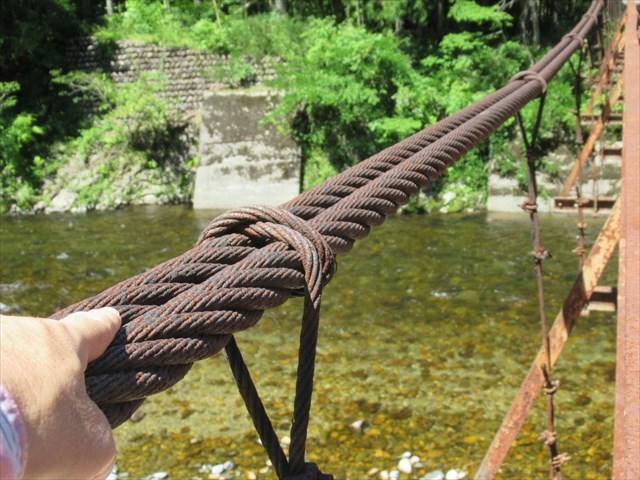 板取松場の吊橋0