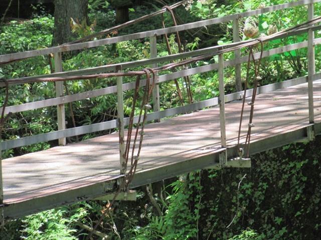 円原の吊橋8