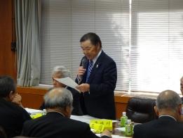 西川俵公民館館長の役員選考報告