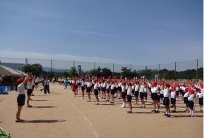 大運動会の大準備体操