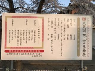 前玉神社 さくら 2018