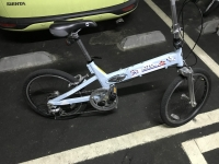 折り畳み自転車問題は解決180409