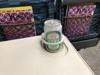 とりあえず新幹線でビール180513