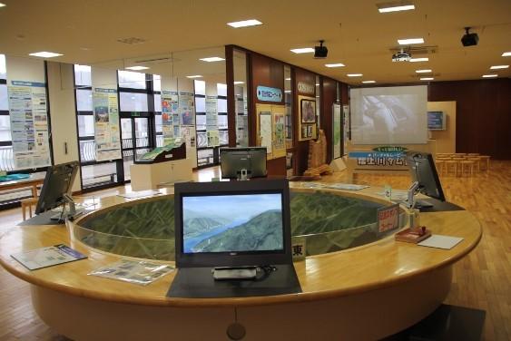 ダム情報の展示