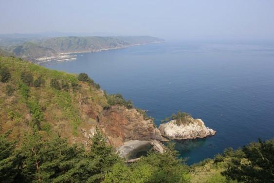 黒崎展望台からの太平洋