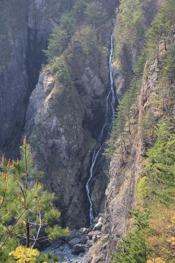 アンモ浦の滝