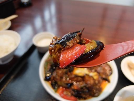 ピリ辛の麻婆茄子