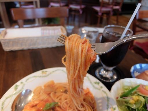 細めのスパゲティ