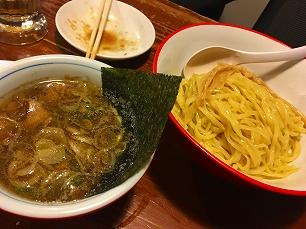 180306やまの@煮干しつけ麺