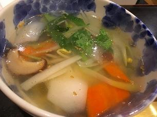 180428サラン@野菜スープ