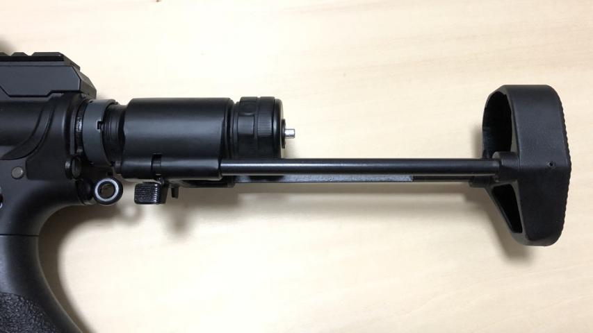 東京マルイスタンダード電動M4用 HK416Cタイプワイヤーストック