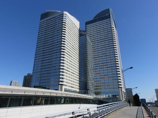 勝どき駅東側にある晴海トリトンスクエア。今月1日より2020年東京オリンピック・パラリンピックの大会組織委員会が入居している。