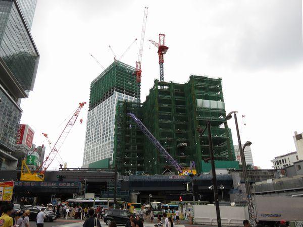 """""""新""""渋谷駅、着々と成長中!"""