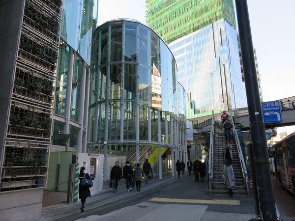 昨年12月にオープンした副都心線渋谷駅新16番出入口