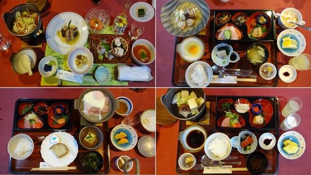 9夕食1と朝食3