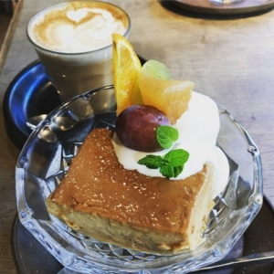 201801 Thecafe プリンアラモード